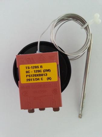 温控感应器_韩国彩虹温控器0℃~120℃ ts-120sb-2m-3p